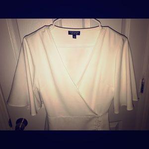 TopShop White Dress